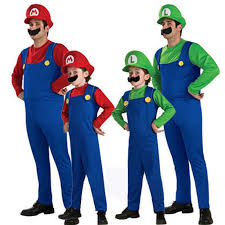 Mario Luigi Halloween Costumes Couples Cheap Halloween Luigi Costume Aliexpress Alibaba