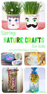 spring nature crafts for kids createmakeshare5 kids craft room