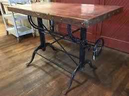 Custom Drafting Tables Drafting Table Custom Copper Top Kitchen Island Desk Bar Ebay