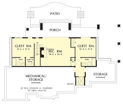 Ranch With Walkout Basement House Plans - walkout basement floor plans small ranch style house rancher with