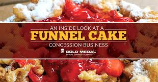 an inside look at a funnel cake concession business