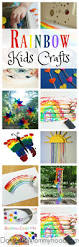 27 rainbow crafts for kids domestic mommyhood