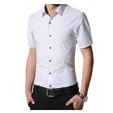 aliexpress com buy men dress shirt brand short sleeve lapel mens