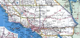 Los Angeles Regions Map by Southern California Map