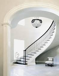 new york white staircase traditional with black stair tread