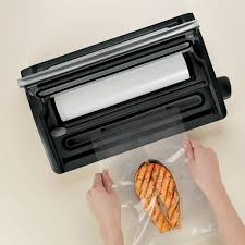 foodsaver countertop v2490 vacuum sealing system stainless steel