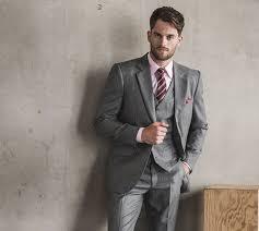 costume mariage homme gris costume de mariage sur mesure avec accessoire original