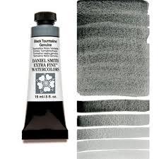 black tourmaline genuine 15ml tube u2013 daniel smith extra fine