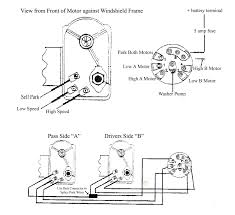 stunning windshield wiper motor wiring diagram images electrical