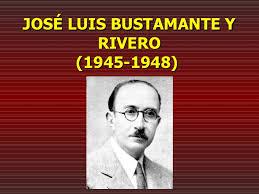 biografia bustamante bustamante y rivero
