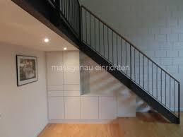 schrank unter treppe dachschrägenmöbel leipzig dresden möbelmaßanfertigung für