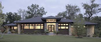 contemporary prairie style house plans prairie modern vanbrouck associates