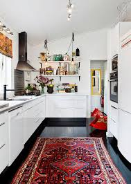 Rug Runners For Kitchen by Vintage Rugs In Nice Kitchens Kitchen Interior Design And
