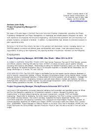 engineer manager cover letter sample coverletter construction