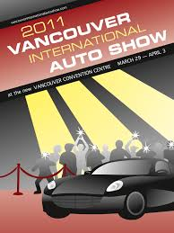 vancouver auto show 2011 poster submissions design ed