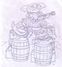 disney pixar u0027s toy story hawaiian vacation coloring book art