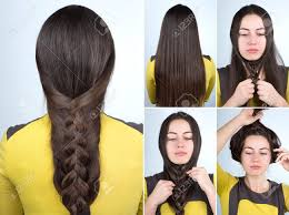 hair tutorial simple braid hairstyle tutorial plait hairstyle for long hair
