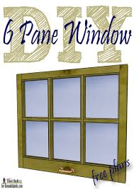 Old Fashioned Picture Frames Remodelaholic Build It 6 Pane Decorative Window