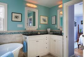 l shaped bathroom with sconce bathroom traditional and modern wall