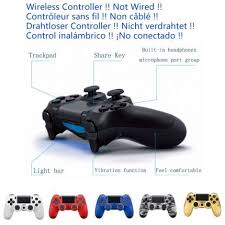ps4 controller white light rechargeable game controller for ps4 controller dualshock 4 joystick