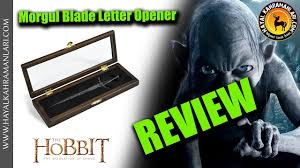 morgul blade letter opener hobbit noble collection review