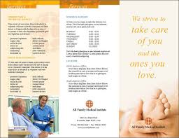 10 best images of health brochure template medical office