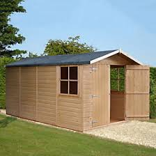 Shiplap Sheds For Sale 6x4 Shetland Apex Shiplap Wooden Shed Departments Diy At B U0026q