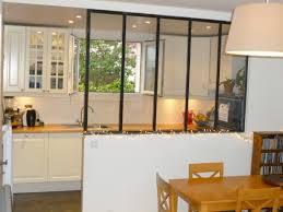 separation verriere cuisine sparation vitre entre cuisine et salon separation cuisine salon