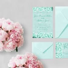 Mint Wedding Invitations Wedding Invitations The Roche Shop