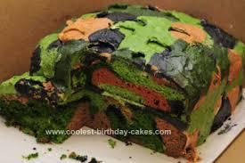 camoflauge cake coolest camo cake design