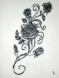 traditional 2 traditional rose outline tattoo designs neo rose