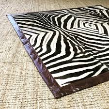 one of a kind zebra area rug greene u2013 forsyth