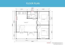 Floor Plan Granny Flat Granny Flat Greenland 57 M Yzy Kit Homes