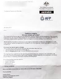 centrelink sends u0027threatening u0027 letters to vulnerable clients
