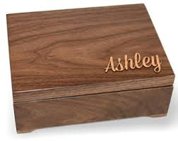 customized keepsake box custom keepsake box etsy