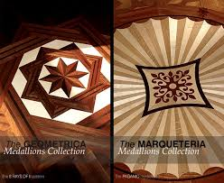 hardwood floor borders and medallions inlays for parquet flooring