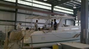 cruisers yachts debuts 390 express coupe as shade ready sureshade