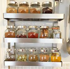 etagere en verre pour cuisine 1001 idées étagère à épices pimentez la déco de votre cuisine