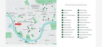 Chelsea Map 4 U0026 5 Bed Luxury New Homes Fulham London Bishops Row Octagon