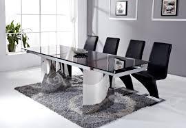 table de cuisine en verre pas cher table salle manger en verre pas cher inspirations et table de