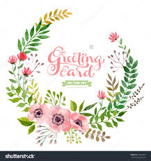 wedding flowers drawing vector flowers set colorful floral collection with leaves and