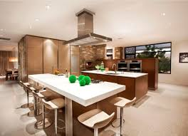 open plan kitchen living room home design