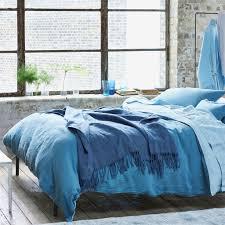 biella dusky blue u0026 cloud bed linen designers guild dream home