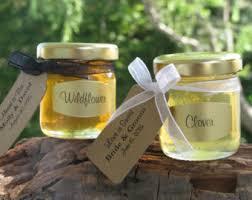 honey jar wedding favors honey wedding favor etsy