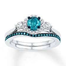 blue and white engagement rings 11 colored engagement rings for the who doesn t want a