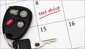 test drive schedule test drive