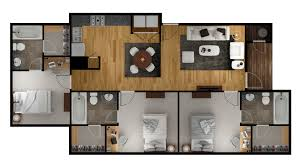 Flooring Plans by 2 3 U0026 4 Bedroom Apts In Oxford University Trails Oxford