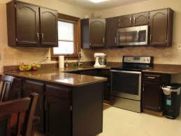 Kitchen Cabinet Makeover Gel Staining Kitchen Cabinets For An Easy Thrifty Update