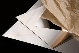 custom cut stainless steel backsplash stainless steel sheet type 304 type 316 cut 2 size metals esmw