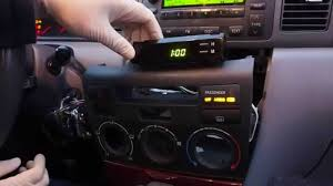 how to fix the clock on your 2003 2008 toyota corolla youtube
